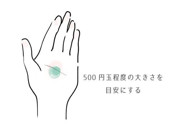 手で化粧水を付ける時の正しい付け方