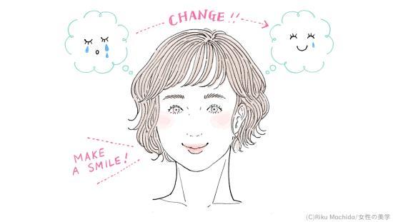 無理にでも表情だけは笑顔を作る