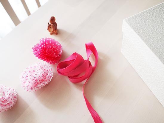 グラシンカップでかわいいお花の作り方