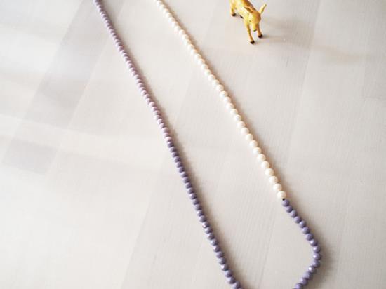 金属アレルギー対応ネックレスの作り方手順