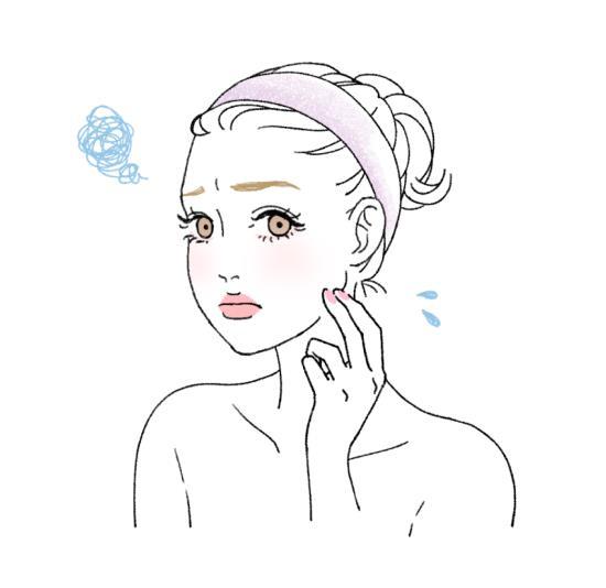 肌汚れは肌トラブルと肌老化につながる